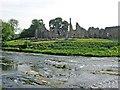 NZ2947 : Finchale Priory, seen from Finchale Banks (across the River Wear) by Brian Abbott