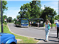 SO9121 : Park and Ride at Arle Court by Pauline E