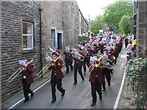 SD9906 : Whit Friday in Dobcross by Paul Anderson