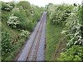 N9670 : Drogheda to Navan single-track line by Jonathan Billinger