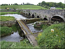 N9673 : River Boyne at Slane Bridge by Jonathan Billinger