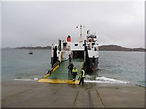 NM2824 : Arrival on Iona by Richard Webb