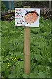 SK0851 : Picnic site sign by Alan Murray-Rust