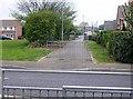 SK8709 : Crossing Burley Way by Graham Horn