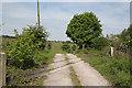 SK0551 : Railway crossing near Launds Farm by Alan Murray-Rust