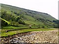 SD9098 : The infant River Swale by Andy Beecroft