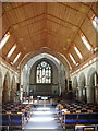 SD4098 : Interior of The Parish Church of St Mary's, Windermere by Alexander P Kapp