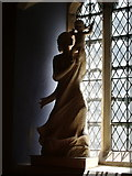 NY3704 : Statue  in The Parish Church of St Mary's, Ambleside by Alexander P Kapp