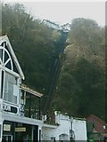 SS7249 : Lynton-Lynmouth cliff railway by Andy Potter