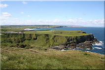 C9444 : View West along the Antrim coast near Giant's Causeway by Dr Neil Clifton