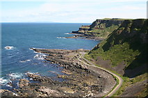 C9444 : View eastwards near Giant's Causeway by Dr Neil Clifton