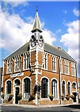 SY9287 : Wareham: town hall by Chris Downer