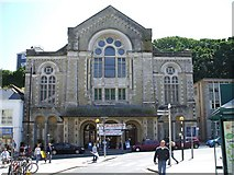 SW8032 : Falmouth Methodist Church by Kenneth  Allen