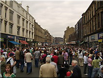 NS5667 : North Byres Road by Stephen Sweeney