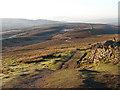 SD8372 : The Pennine Way across Fawcett Moor by John Lucas