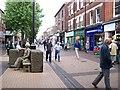 SK5236 : High Street Beeston by Garth Newton
