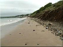 TA1281 : Filey Beach looking to Coble Landing by John Fielding