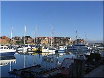 SY6778 : Weymouth Marina by Stephen Williams