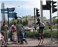ST1974 : Street scene near Millennium Centre by Pauline E