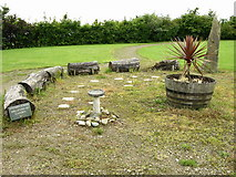 SD7513 : Affetside Primary School Millennium Garden, Affetside by liz dawson