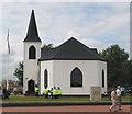 ST1974 : Norwegian Church, Cardiff Bay by Pauline E