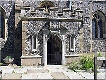TL3706 : St Augustine, Broxbourne, Herts - Porch by John Salmon