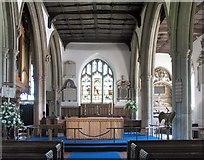 TL3706 : St Augustine, Broxbourne, Herts - Chancel by John Salmon