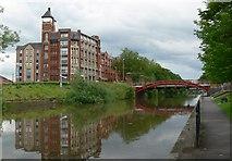 SK5803 : Mill Lane Bridge, Leicester by Mat Fascione