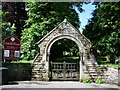 NY1133 : Lychgate, St Bridget's Church, Bridekirk by Alexander P Kapp