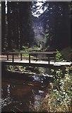 NU0702 : Footbridge over the Debdon Burn by Trevor Rickard