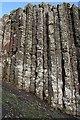 C9444 : Detail of Basalt Columns by Anne Burgess