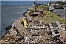 NT0683 : Charlestown harbour by Paul McIlroy