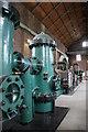 SK0319 : Brindley Bank steam pumping engine by Chris Allen