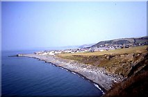 SN4562 : Coastline west of Aberaeron by Trevor Rickard