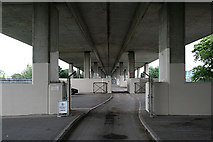 TQ1070 : Under the A316 by Alan Murray-Rust