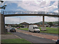 NZ5317 : Footbridge over Normanby Road by Stephen McCulloch
