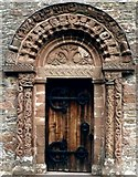 SO4430 : Carved doorway of Kilpeck Church by Linden Milner