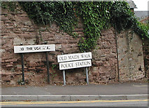 SO5923 : Old Maids Walk, Ross-on-Wye by Pauline E