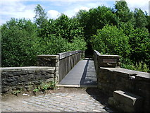 SD9701 : Footbridge by Alexander P Kapp