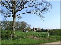 TF3064 : Hall Farm, Claxby Pluckacre by Dave Hitchborne