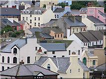 SC2484 : buildings of Peel viewed from the castle by Chris Gunns