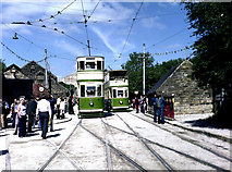 SK3454 : National Tramway Museum, Crich by Dr Neil Clifton