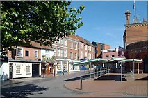 SU8168 : Market Place, Wokingham by Anthony Eden