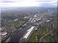 NZ2063 : River Tyne.Scotswood Bridge.Vickers Armstrong Works by Donald Brydon