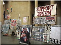 """TQ3078 : """"Support Brian"""" at Tate Britain by ceridwen"""