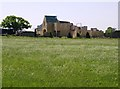 ST8488 : Moorish barn on Wood Lane by Graham Horn