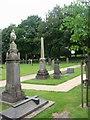 SJ8548 : St Margaret's Churchyard by Clive Woolliscroft