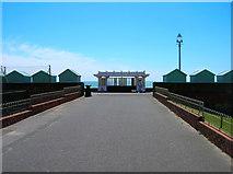 TQ2704 : Shelter, Western Esplanade by Simon Carey