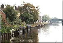 SE5023 : 2001 : Shepherds Bridge, Aire & Calder by Maurice Pullin