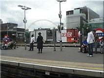 TQ1986 : Wembley Park station: platforms by Chris Downer